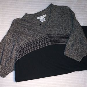 Mens Knit Polo Style Sweater